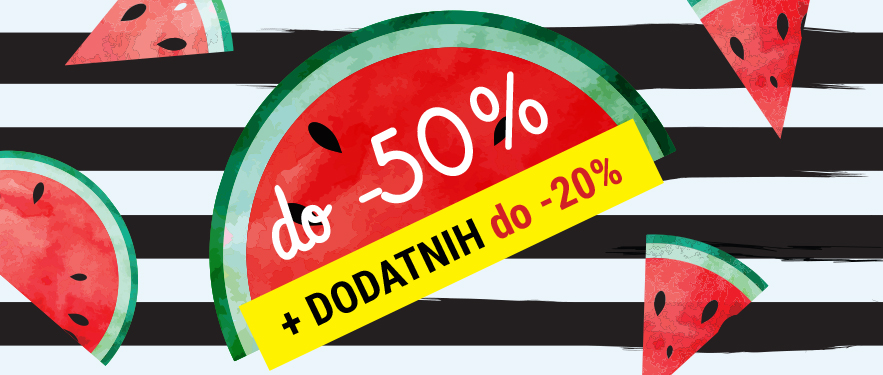 Dodatno znižanje do -20%
